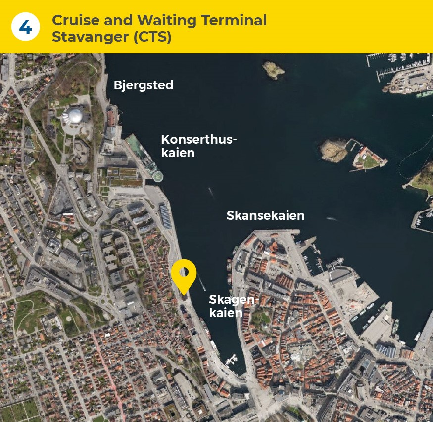 4 Cruise and Waiting Terminal Stavanger (CTS)