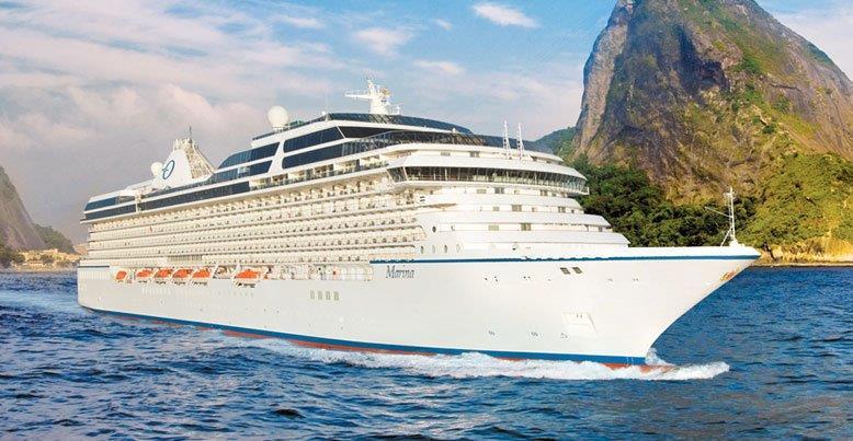 Marina fra Oceania Cruises sine nettsider