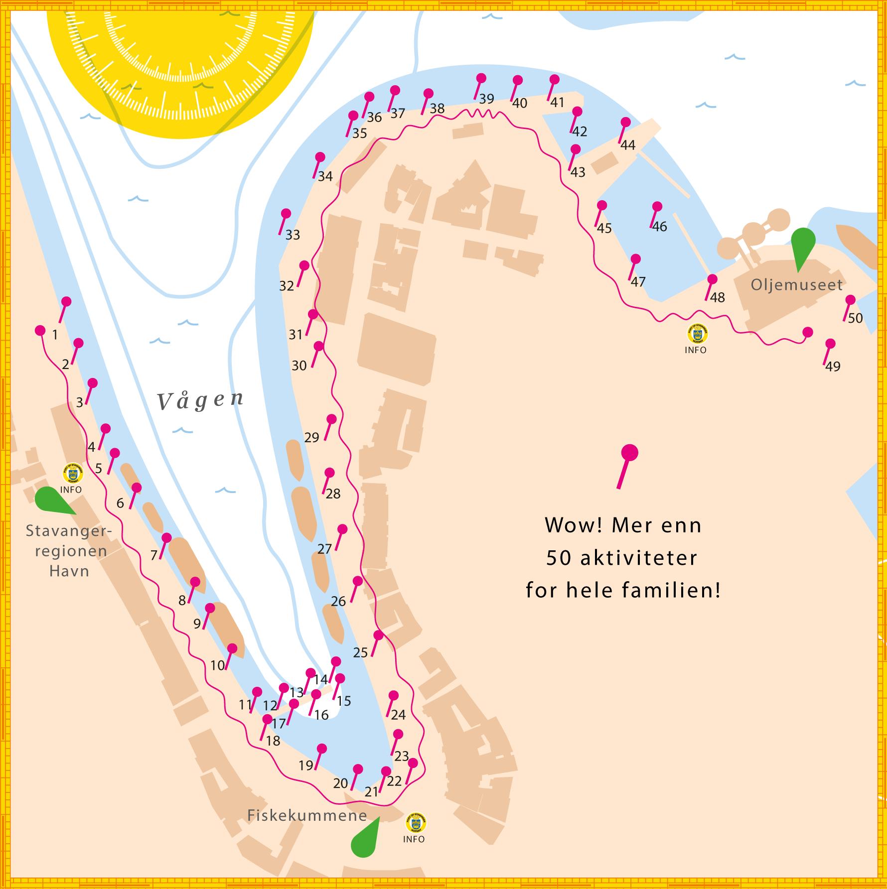 Havnelangs 2017 kart